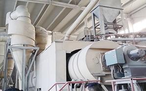 新型双回程(一机二步)石膏煅烧生产线