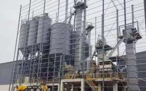 干粉砂浆生产线+机制砂生产线